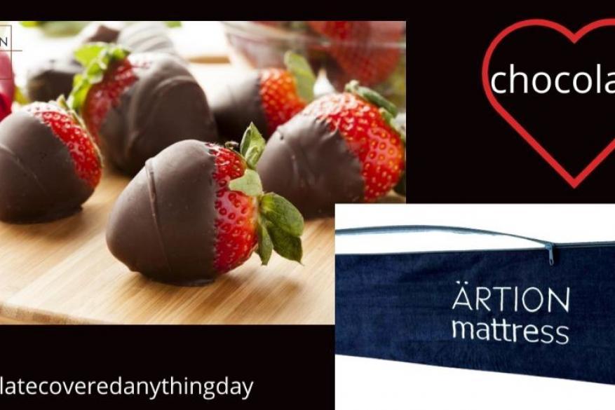 Παγκόσμια ημέρα επικάλυψης με σοκολάτα