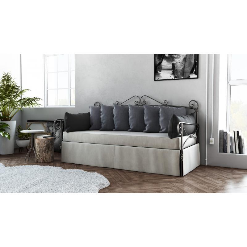 """Mεταλλικός καναπές """"Borg"""""""