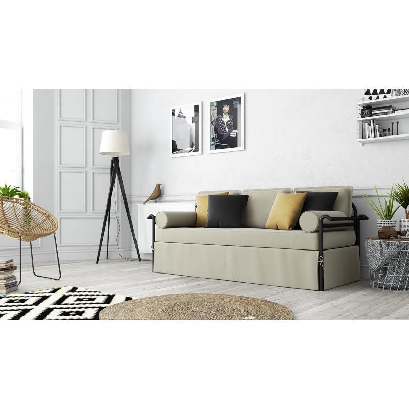 "Mεταλλικός καναπές ""Grock"""