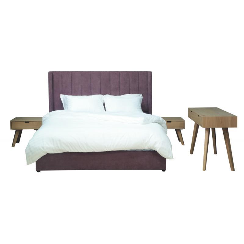 """Επενδεδυμένο Κρεβάτι """"Κάλυμνος"""""""