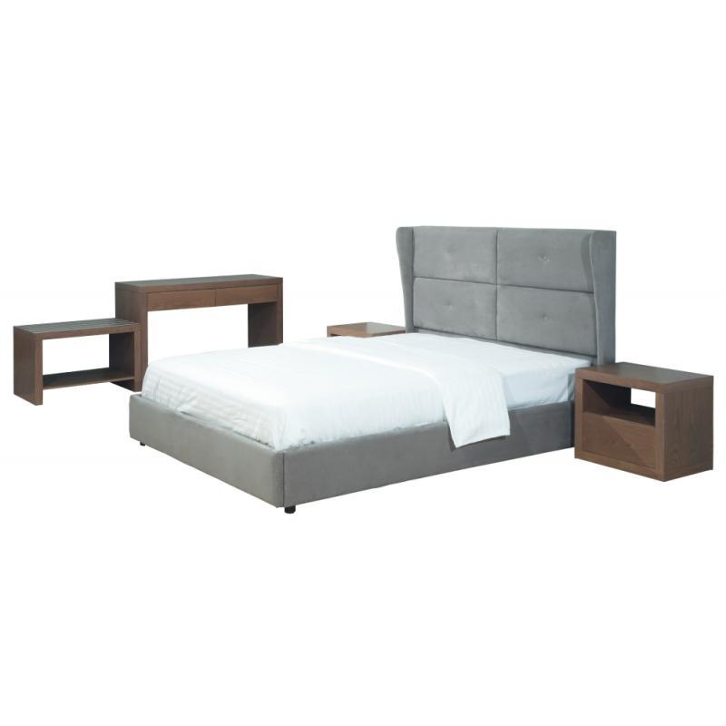 """Επενδεδυμένο Κρεβάτι """"Κως"""""""