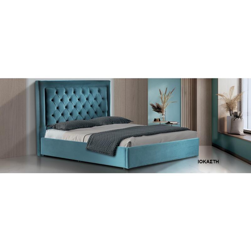 """Επενδεδυμένο Κρεβάτι """"Ιοκάστη"""""""