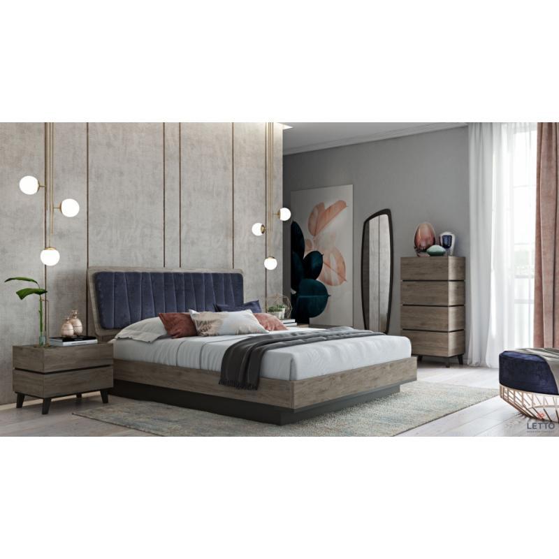 """Επενδεδυμένο Κρεβάτι """"Ritz 2"""""""