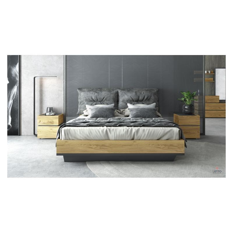 """Ξύλινο Κρεβάτι """"Loft"""""""
