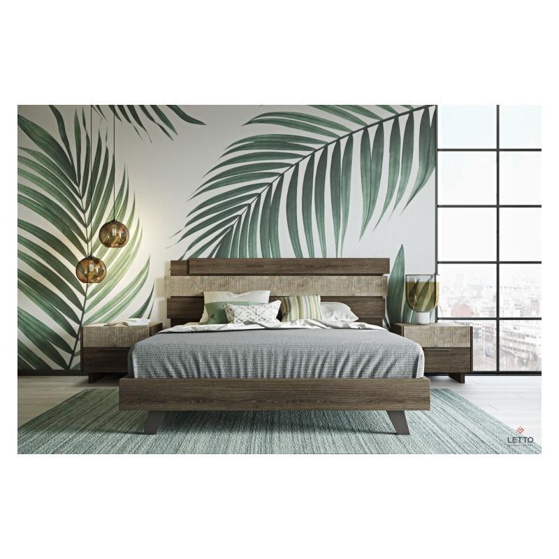 """Ξύλινο Κρεβάτι """"Sicilia 3"""""""