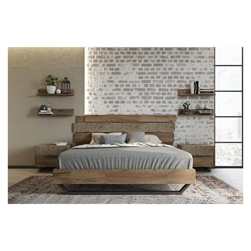 """Ξύλινο Κρεβάτι """"Sicilia"""""""