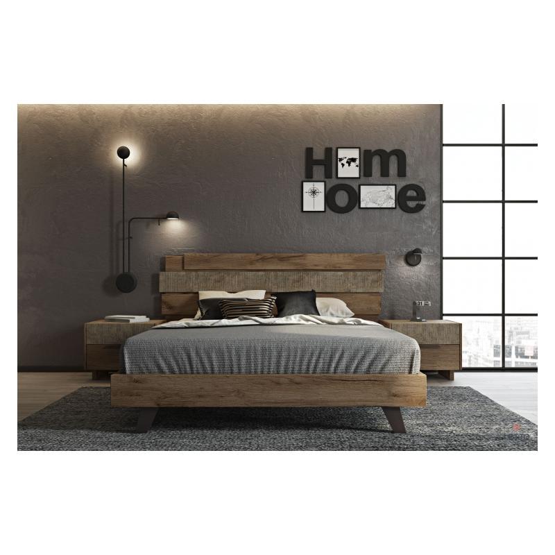 """Ξύλινο Κρεβάτι """"Sicilia 2"""""""
