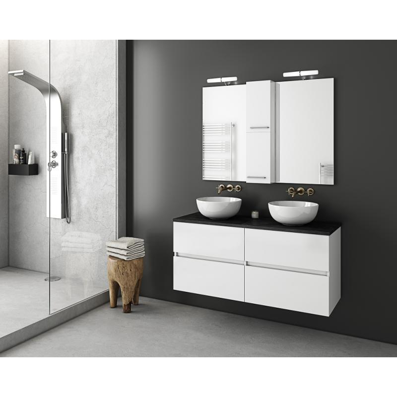 LUXUS 120 Top Granite / PL Wood / White