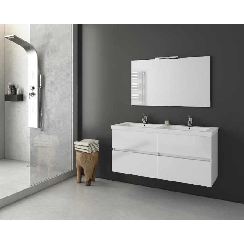 LUXUS 120 -1 Granite / PL Wood / White
