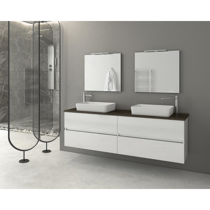 LUXUS 160 -1 Granite / PL Wood / White