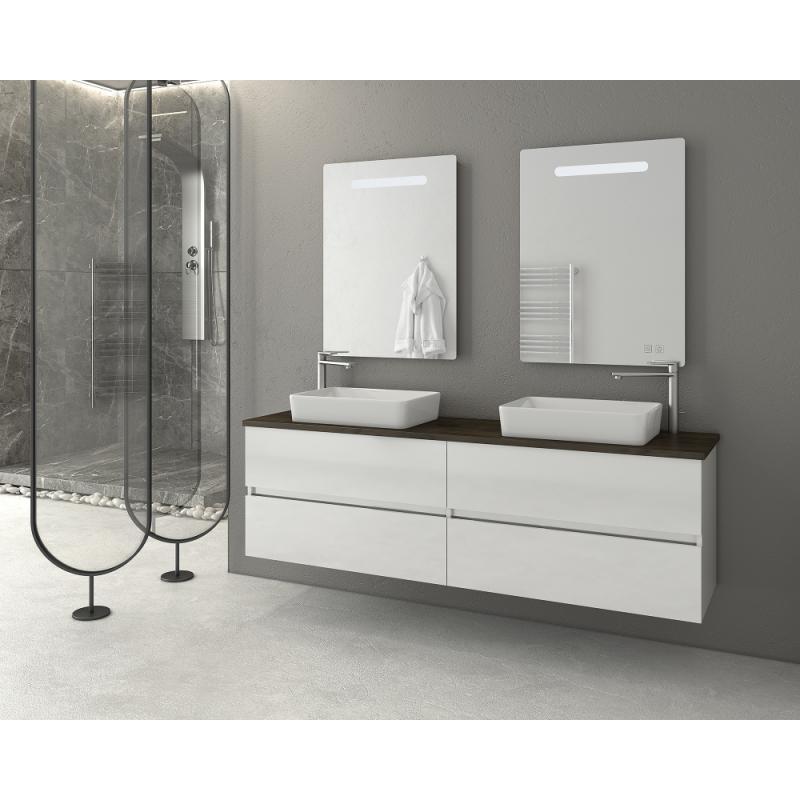 LUXUS 160 Granite / PL Wood / White