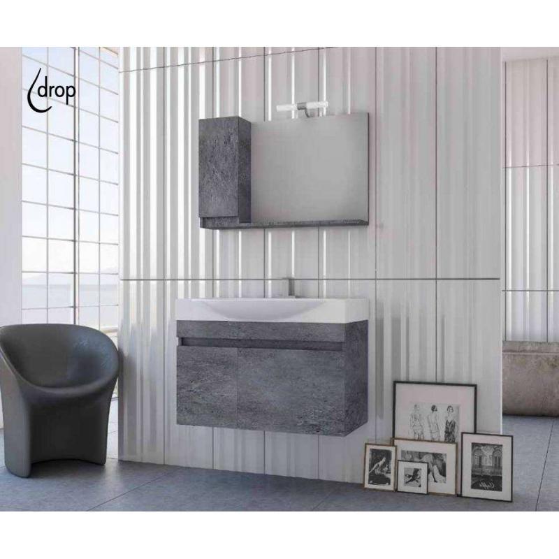 SENSO 85 Granite / PL Wood / White